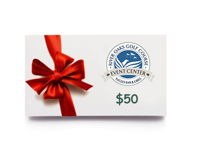 Gift Card - River Oaks Golf Course - Cottage Grove