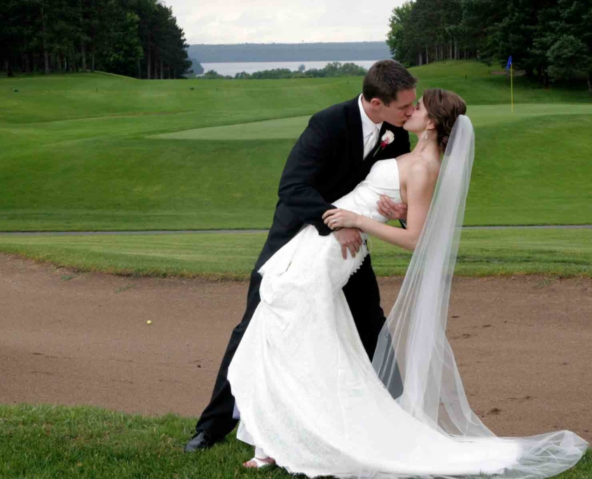 Husband and Wife - River Oaks Golf Course - Cottage Grove