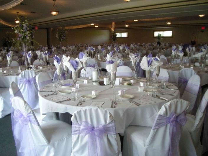 Wedding Groom Setup - River Oaks Golf Course - Cottage Grove