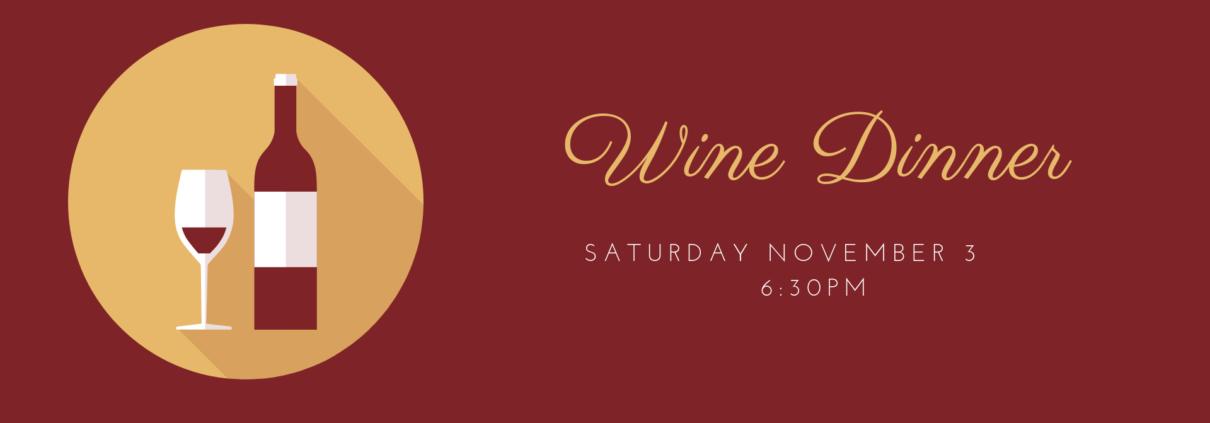 Wine Dinner - River Oaks Golf Course - Cottage Grove