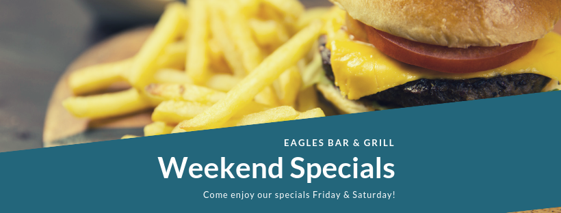 Weekend Specials - River Oaks Golf Course - Cottage Grove