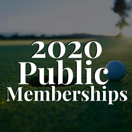 2020 Public Memberships - River Oaks Golf Course - Cottage Grove