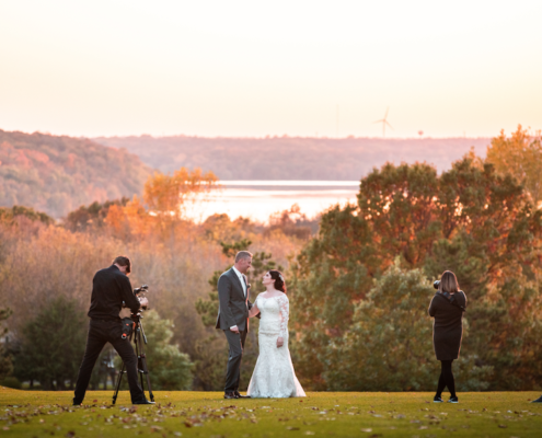 Wedding Shot - River Oaks Golf Course - Cottage Grove