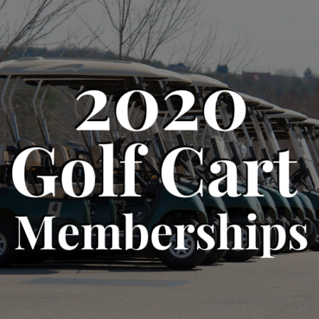 Golf Cart Memberships - River Oaks Golf Course - Cottage Grove