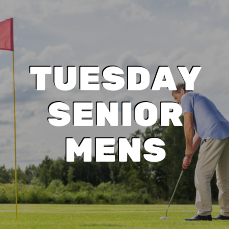 Tuesday Senior Men's League - River Oaks Golf Course - Cottage Grove