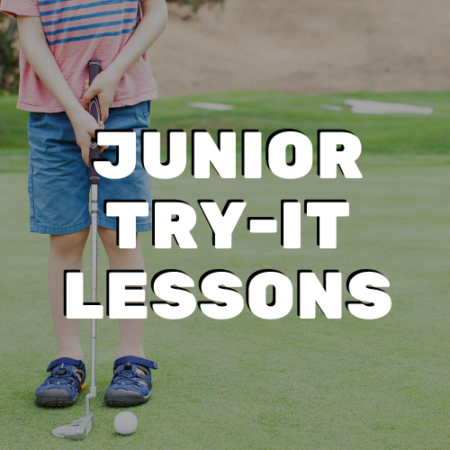 Junior Try-It Lessons - River Oaks Golf Course - Cottage Grove
