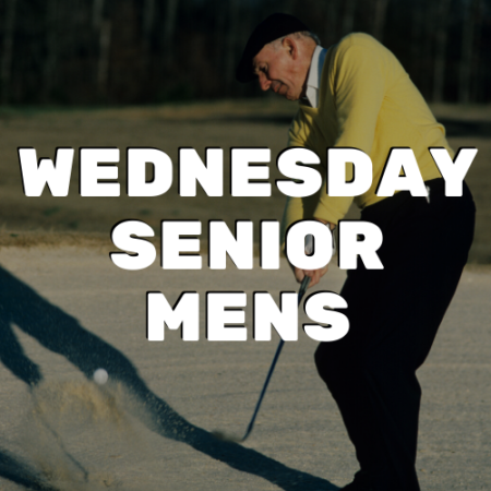 Wednesday Senior Men's League - River Oaks Golf Course - Cottage Grove