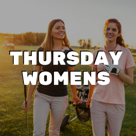 Thursday Women's League - River Oaks Golf Course - Cottage Grove